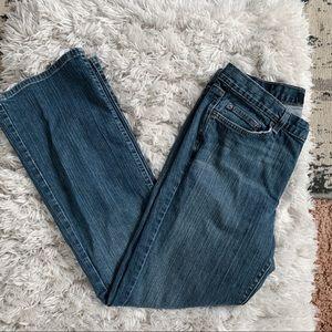 Calvin Klein Faded Flare Women's Jeans Size: 12